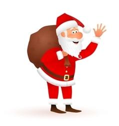Santa Claus cartoon vector image
