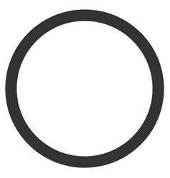 Circle bubble flat icon vector