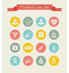 Medical Infographic Template vector image