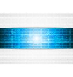 Vibrant tech design vector image vector image