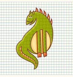 dragon baby toy vector image