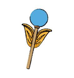 Weapon of superhero power fantasy icon vector