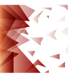 abstract blurred background with hipster triangles vector image