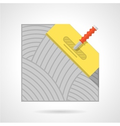 Colorful icon for flooring vector image