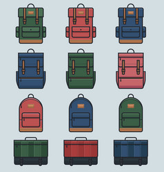 Day packs vector