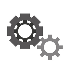 gears isolated icon design vector image
