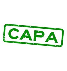 Grunge green capa abbreviation corrective vector