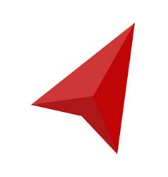 navigator icon on white background flat style vector image