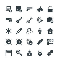Security Cool Icons 4 vector