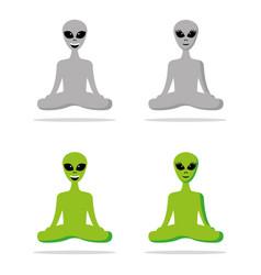 Spiritual alien vector
