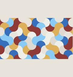 stylish geometric background vector image