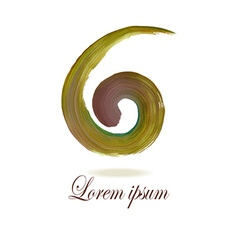 Swirl Logo2 vector image
