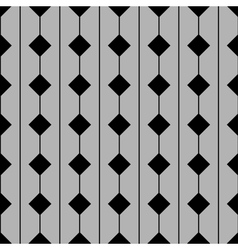 Tile pattern with grey and black background vector