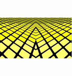 Yellow geometric abstract background vector