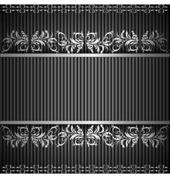 SILVER exergue vector image vector image