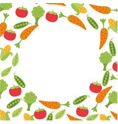 Background organic icon vector