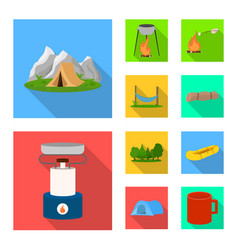 Design tourism and excursions logo vector