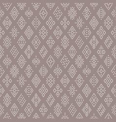 ethnic symbols pattern vector image