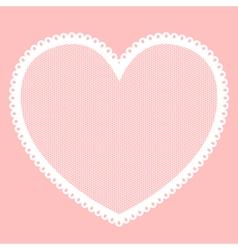 Lacy heart vector