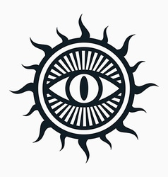 Occult symbol vector image