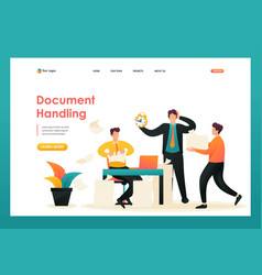 Process collecting documents for the report vector