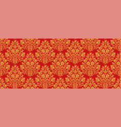 Russian national hohloma style seamless pattern vector