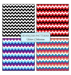 Seamless pattern zigzag vector