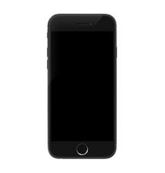 smartphone realistic mobile phone mockup vector image