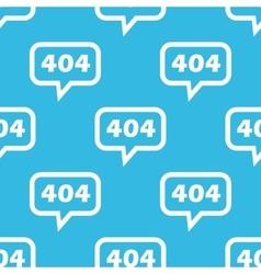 Error 404 message pattern vector