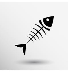 Fish menu design template logo icon vector