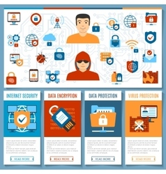Internet security concept 2 vector