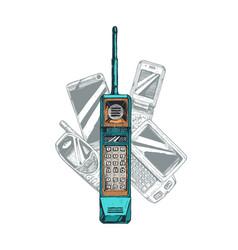 Mobile phone evolution vector