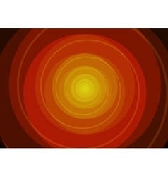 Red spiral background vector image