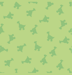 The little dinosaurs background vector