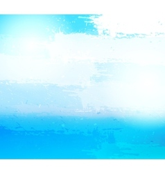 Abstract grunge blue background vector image