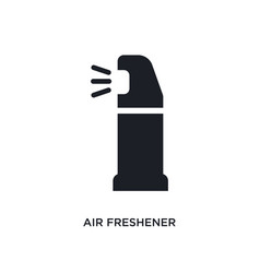 Air freshener isolated icon simple element from vector
