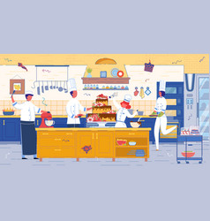 confectionery or pastry cafeteria kitchen stuff vector image