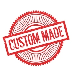 Custom made stamp vector