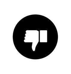like and dislike icons collection set thumbs up vector image