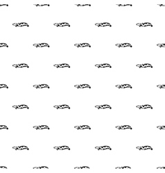 Snakehead fish pattern simple style vector image