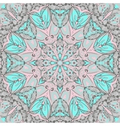 traditional ornamental paisley bandanna hand vector image