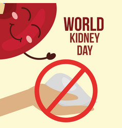 World kidney day vector