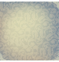 abstract damask design vector image