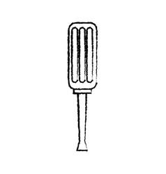 screwdriver tool repair instrument equipment vector image vector image