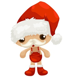 doll santa claus vector image