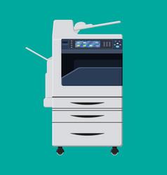 office multifunction machine vector image