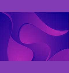 abstract blue violet corporate waves background vector image