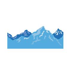 alpine mountain switzerland landscape travel image vector image