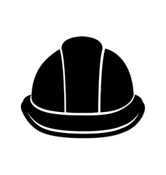 Black helmet and white lines graphic vector