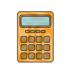 Calculator electronic object vector